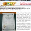 InfoBrčko : MEĐUNARODNA SARADNJA SA INTERNATIONAL MANIPUR UNIVERSITY