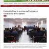 Uručeni indeksi brucošima na Evropskom univerzitetu Brčko distrikt